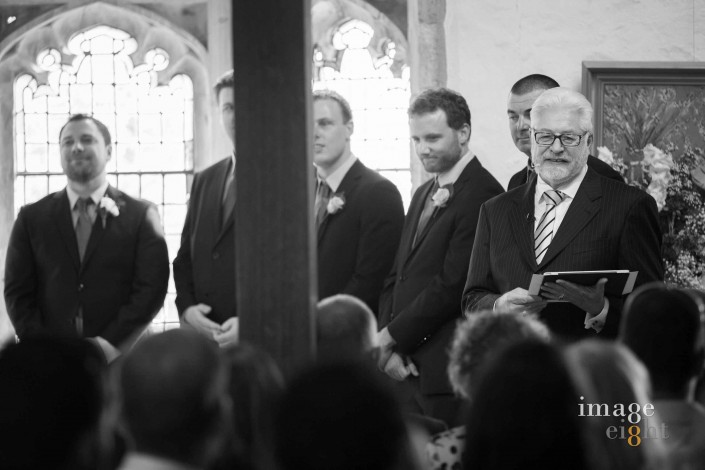 Montsalvat wedding with celebrant Trevor Rice