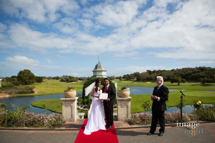 wedding Eagle Ridge Golf Course
