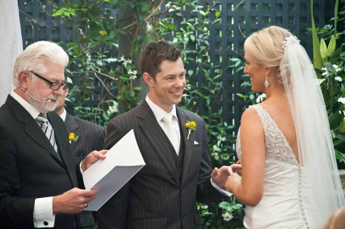 Wedding celebrant Trevor Rice